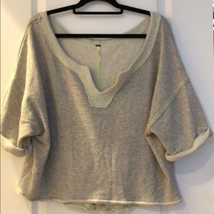 Free people oversized casual sweater